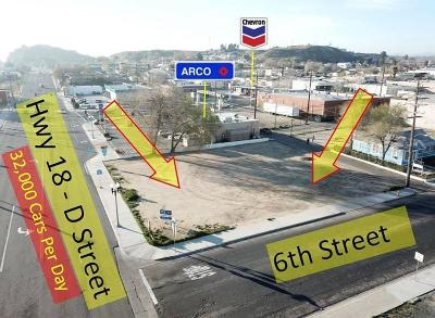 Victorville CA Commercial Lots & Land For Sale: $275,000