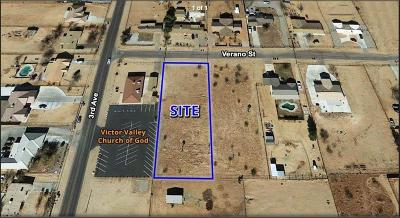Hesperia CA Residential Lots & Land For Sale: $59,900