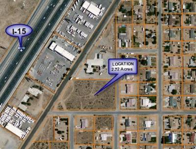 Hesperia CA Commercial Lots & Land For Sale: $1,000,000