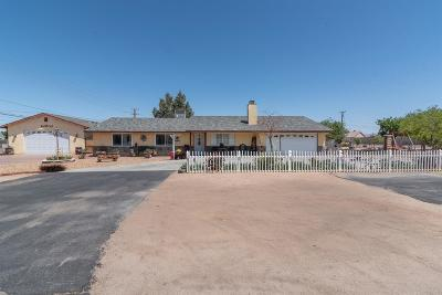 Apple Valley Single Family Home For Sale: 20972 Del Oro Road