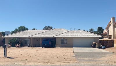 Hesperia Single Family Home For Sale: 18563 Danbury Avenue