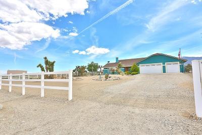 Pinon Hills Single Family Home For Sale: 411 Calaveras Road
