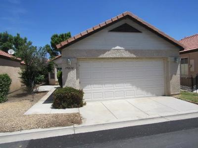 Apple Valley Single Family Home For Sale: 19020 Stoddard Way