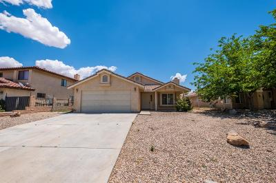 Victorville Single Family Home For Sale: 13975 Hidden Valley Road