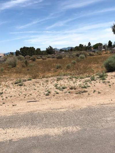 Hesperia CA Residential Lots & Land For Sale: $89,900