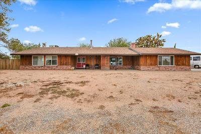 Apple Valley CA Single Family Home For Sale: $239,800