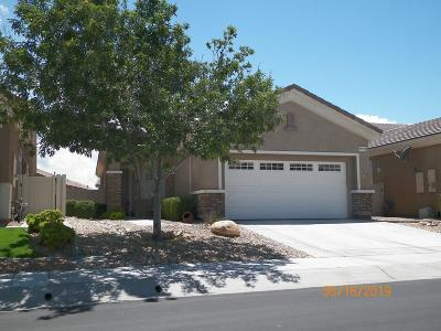 Apple Valley Single Family Home For Sale: 19535 Valley Court
