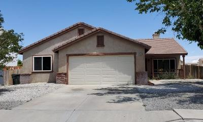 Adelanto Single Family Home For Sale: 14553 Monterey Place