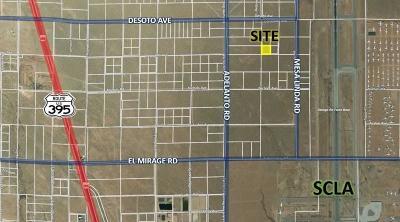 San Bernardino County Commercial Lots & Land For Sale: Mesa Linda Road