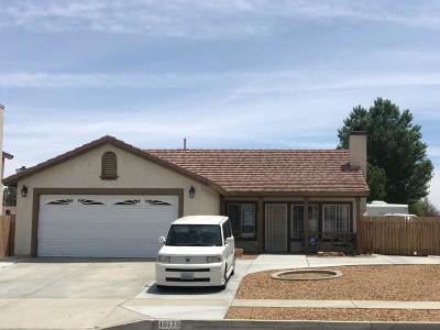 Adelanto Single Family Home For Sale: 15175 Lake Street