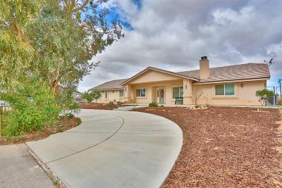 Apple Valley Single Family Home For Sale: 15506 Navajo Road