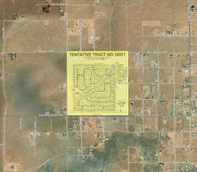 Apple Valley Residential Lots & Land For Sale: Standing Rock Road