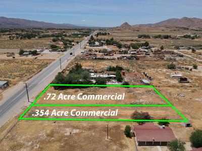 San Bernardino County Commercial Lots & Land For Sale: Hwy 18