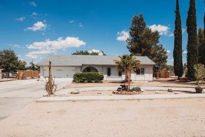 Hesperia Single Family Home For Sale: 9959 Redwood Avenue