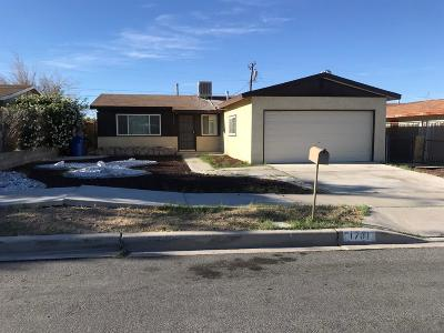 Barstow Single Family Home For Sale: 1701 Sunset Street