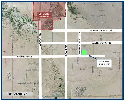 San Bernardino County Residential Lots & Land For Sale: Indian Trail