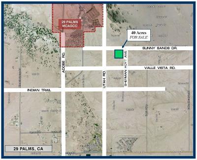 San Bernardino County Residential Lots & Land For Sale: Sherman Hoyt Avenue
