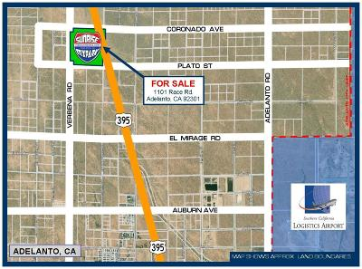 Adelanto Commercial For Sale: 1101 Race Road