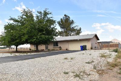 Apple Valley Single Family Home For Sale: 16514 Pawnee Road