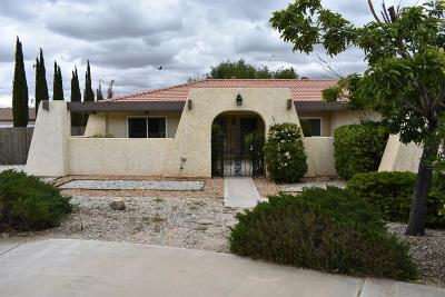 Apple Valley CA Single Family Home For Sale: $274,900