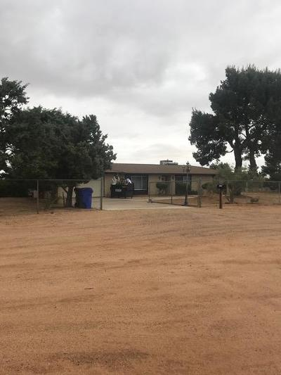 Apple Valley CA Single Family Home For Sale: $170,000