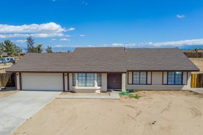 Victorville Single Family Home For Sale: 13101 Hollyberry Road