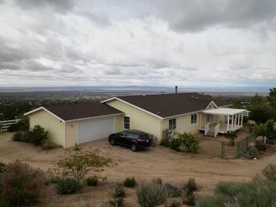 Pinon Hills Single Family Home For Sale: 8992 Primavera Road