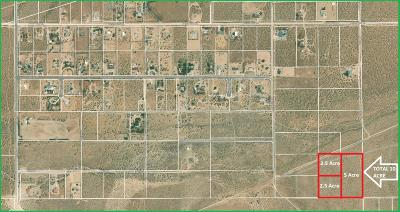 Apple Valley Residential Lots & Land For Sale: Corto Drive