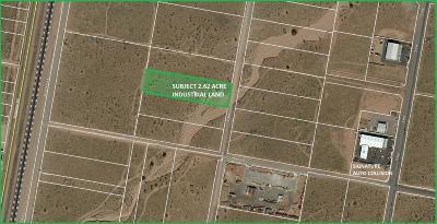 Hesperia CA Commercial Lots & Land For Sale: $45,000