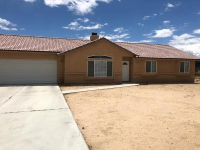 Hesperia Single Family Home For Sale: 19251 Vine Street