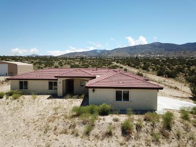 Pinon Hills Single Family Home For Sale: 1121 Smoke Tree Road