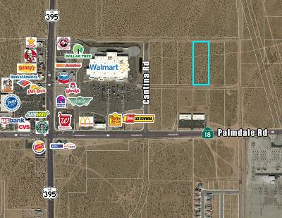 Victorville CA Commercial Lots & Land For Sale: $857,914