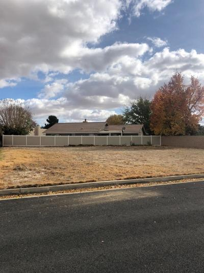 Victorville CA Residential Lots & Land For Sale: $75,000