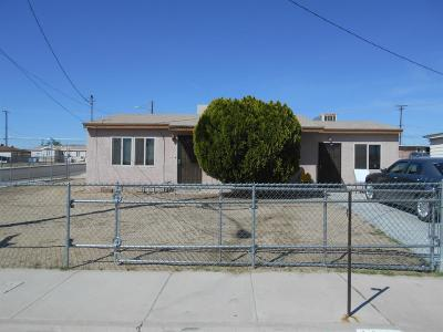 Barstow Single Family Home For Sale: 1380 Mesa Drive