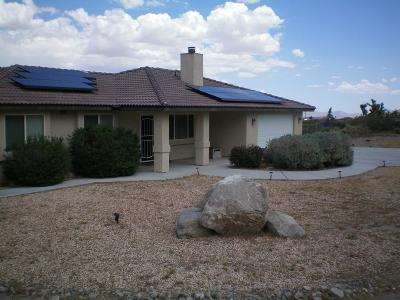 Lucerne Valley Single Family Home For Sale: 32160 Sapphire Road