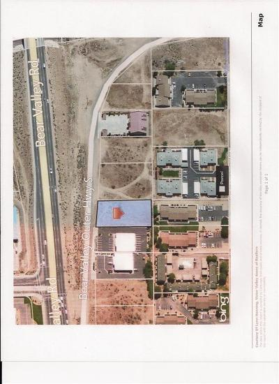 Hesperia CA Commercial Lots & Land For Sale: $99,000