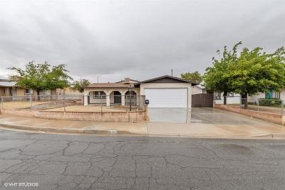 Barstow Single Family Home For Sale: 1109 Piute Street