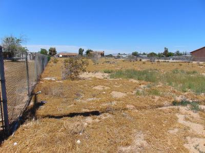 Hesperia CA Residential Lots & Land For Sale: $67,500
