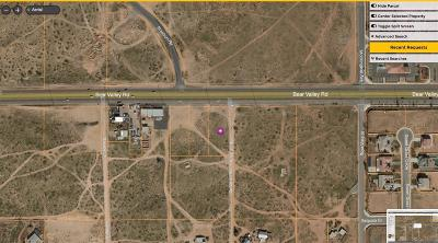 Apple Valley CA Commercial Lots & Land For Sale: $169,900