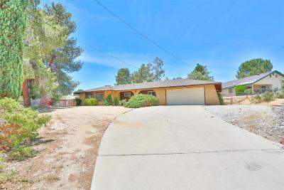 Hesperia Single Family Home For Sale: 16855 Sage Street