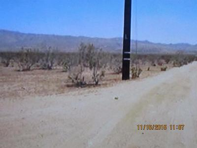 Pinon Hills CA Residential Lots & Land For Sale: $25,000