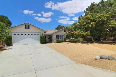 Apple Valley Single Family Home For Sale: 22554 High Vista Place