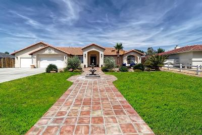 Apple Valley Single Family Home For Sale: 12815 Sorrel Drive