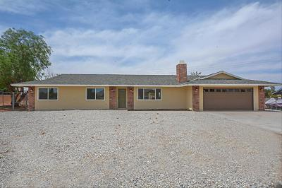 Apple Valley Single Family Home For Sale: 11842 Cibola Road