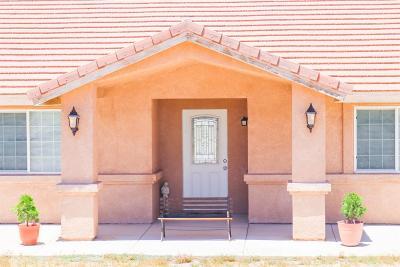 Pinon Hills Single Family Home For Sale: 1124 Smoke Tree Road