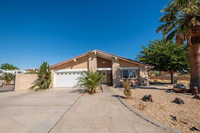 Apple Valley CA Single Family Home For Sale: $360,000