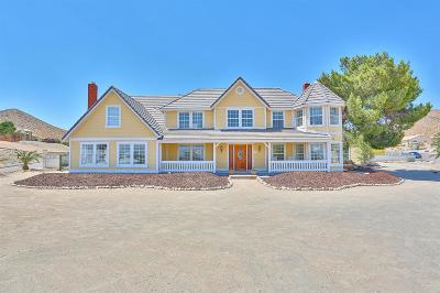 Apple Valley CA Single Family Home For Sale: $535,000