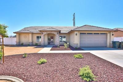 Apple Valley CA Single Family Home For Sale: $312,500