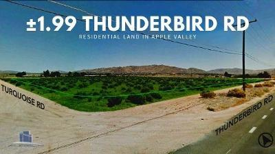 Apple Valley CA Residential Lots & Land For Sale: $37,900