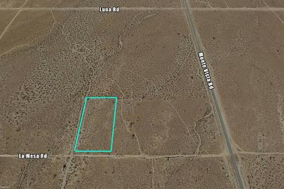 Victorville CA Commercial Lots & Land For Sale: $99,000